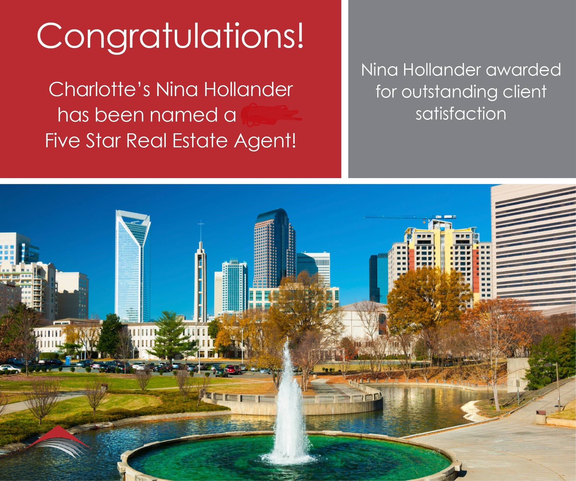 Nina Hollander Named 5-Star Agent For 12th Consecutive Year