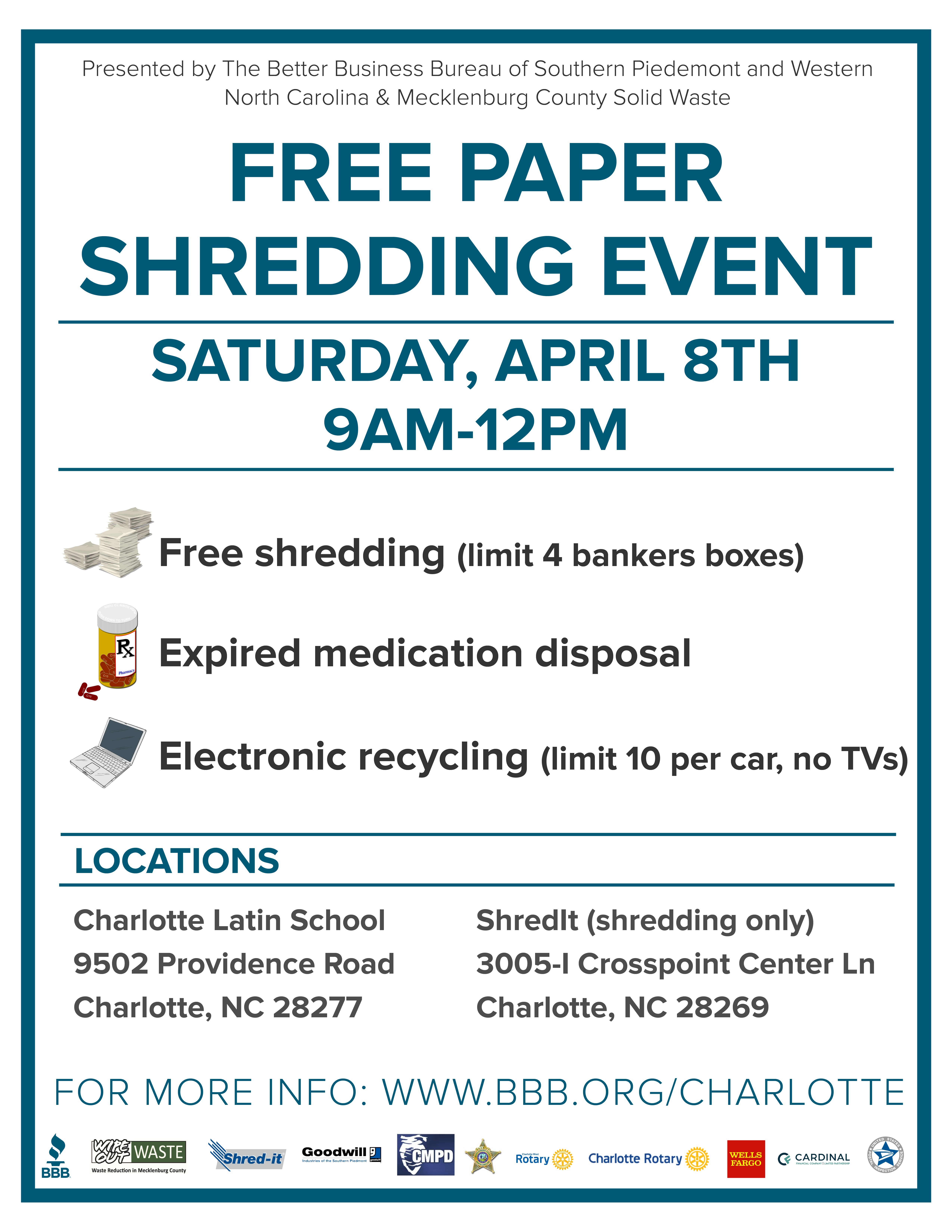 paper shredding event Shred days in fountain valley help keep communities secure learn about how to host and where you can attend a local shredding event near you.