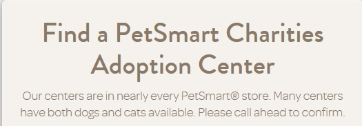 Find A PetSmart Charities Adoption Center Near You