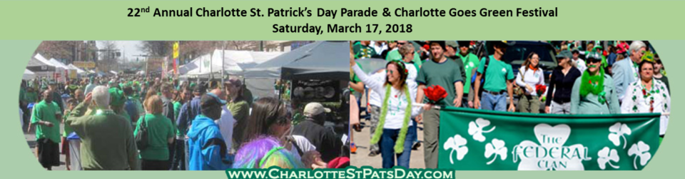 St Patrick's Day Parade & Festival In Charlotte