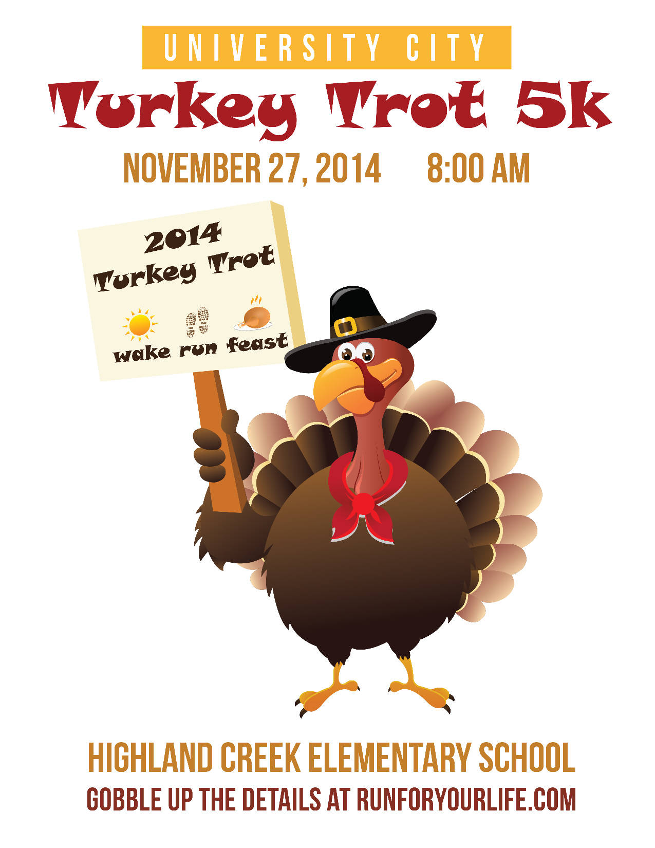Turkey Day Hercules Style: Thanksgiving Day Turkey Trots In Charlotte, NC