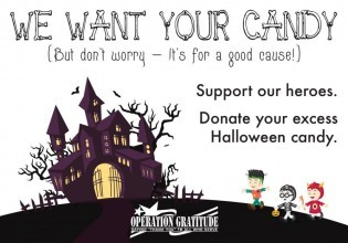 Operation Gratitude Halloween Candy For Troops