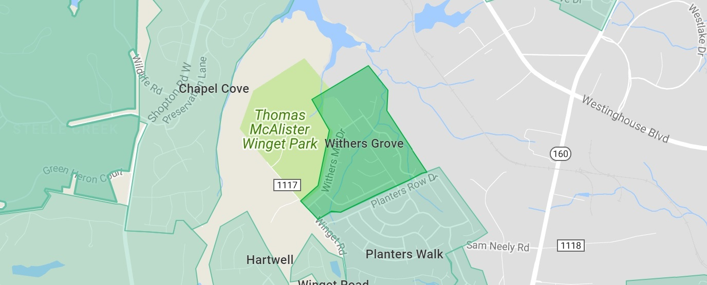 Withers Grove in southwest Charlotte a hot neighborhood