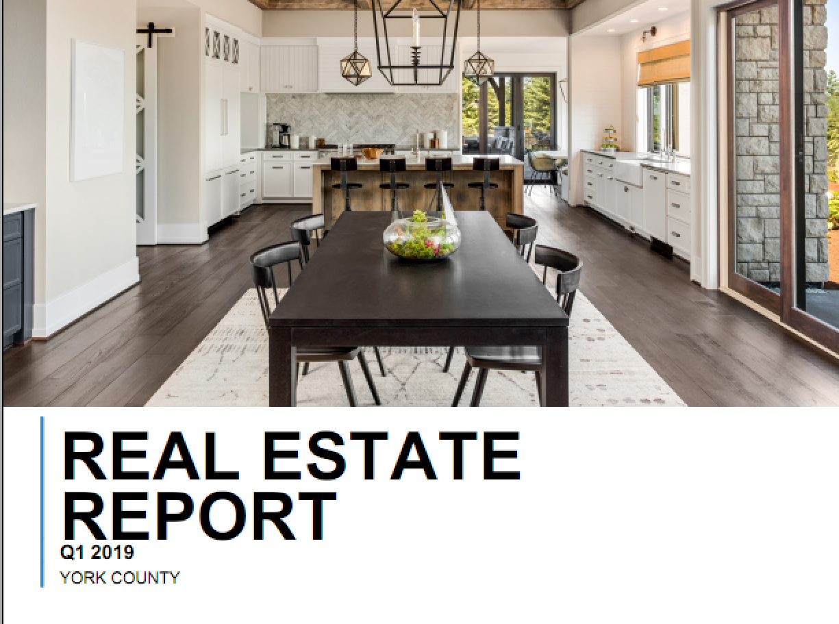 York County, SC Real Estate Report Quarter 1, 2019