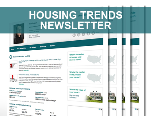 Housing Trends eNewsletter June 2014