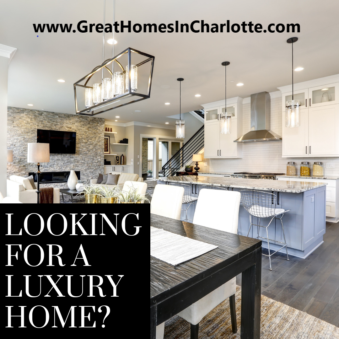 Looking for a luxury home in the Charlotte region?