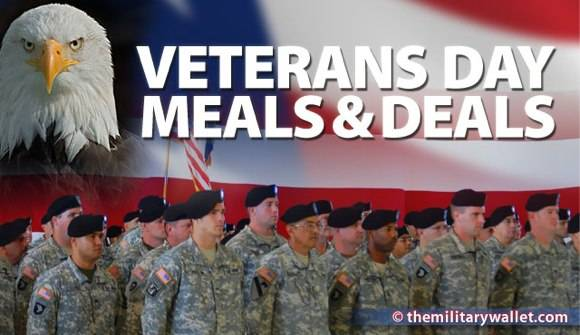 Veterans Day Meals Deals In Charlotte Nc