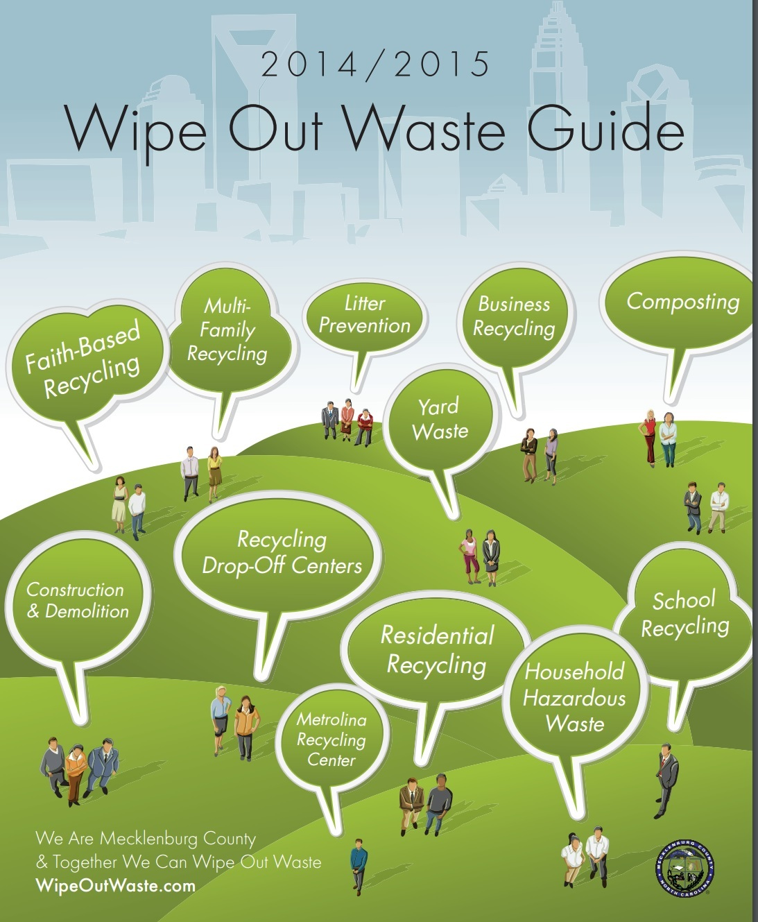 Charlotte Mecklenburg, NC Wipe Out Waste Guide