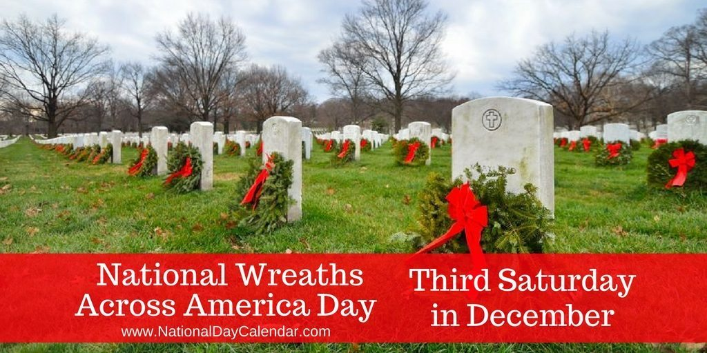 Wreaths Across America Day December 17, 2016