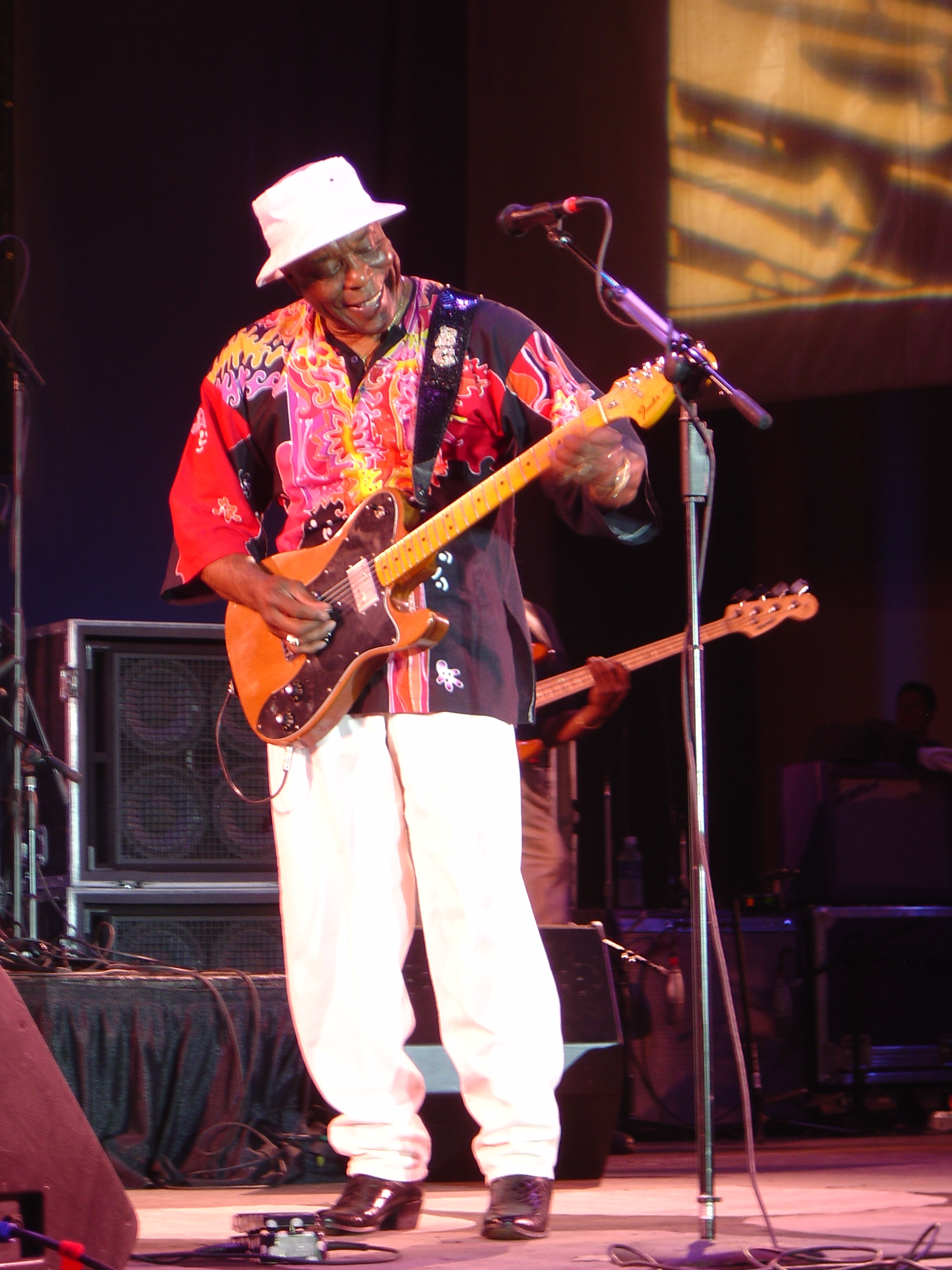 Buddy Guy with a great smile