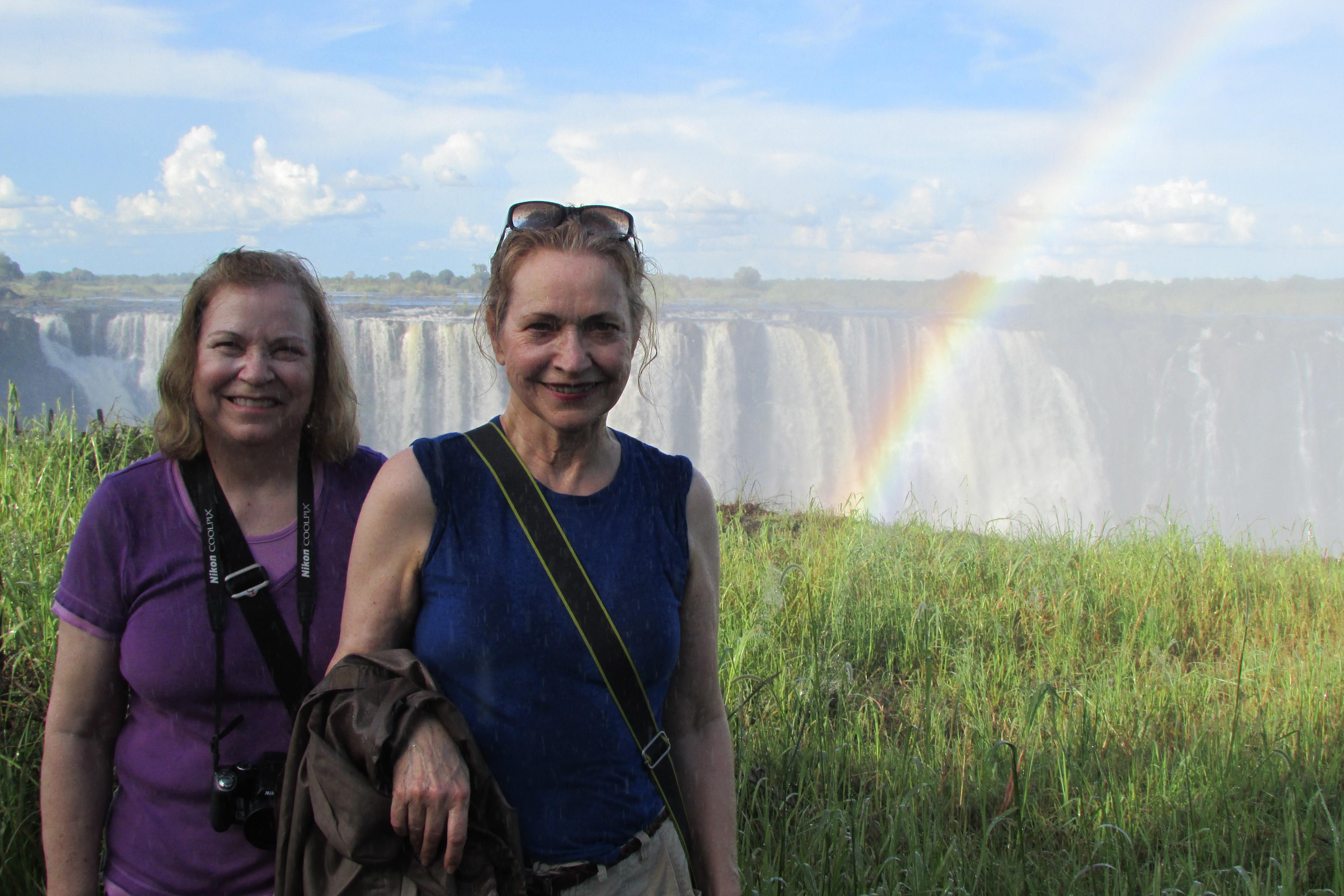 Victoria Falls Wet Faces