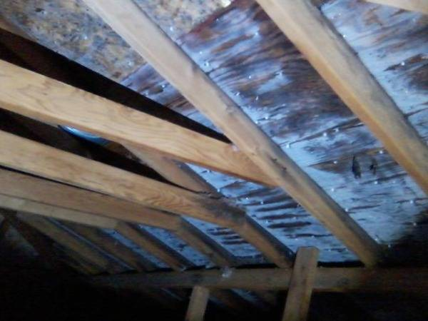 Why Is There Frost In My Attic
