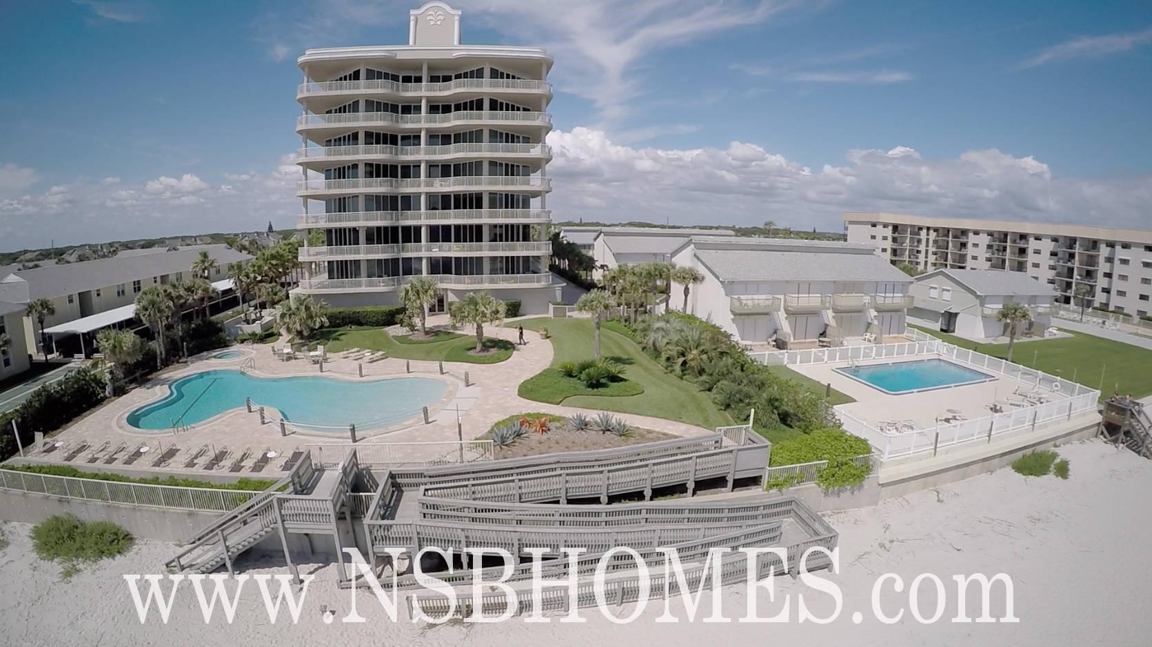The Fountains Condo for Sale 4207 S Atlantic New Smyrna Beach