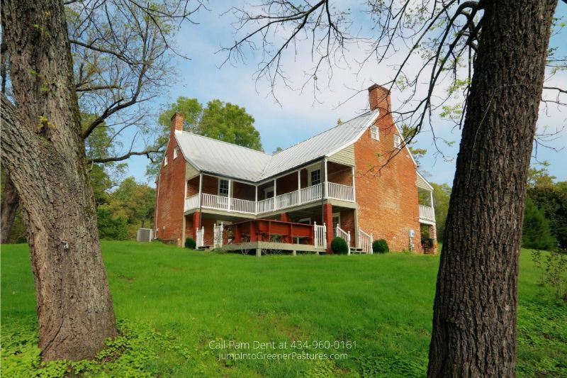 Central VA Historic Country Homes for Sale - Bask in the peace and serenity offered by this updated historic country home for sale in Central VA.