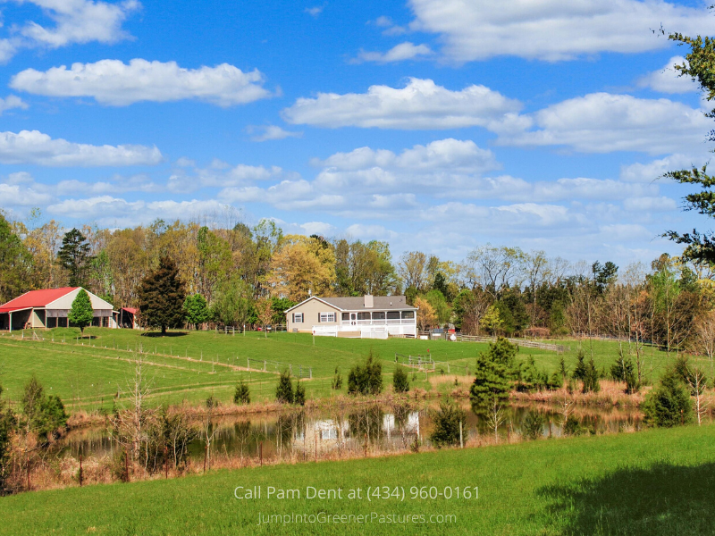 Central VA Real Estate Properties for Sale - Make Palmyra Hill, a Central VA property your country haven.