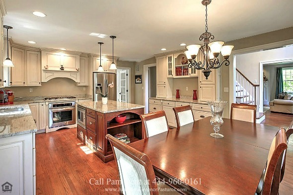 Central VA Country Properties -  Unleash your inner chef in this Free Union country home's gourmet-eat in kitchen.