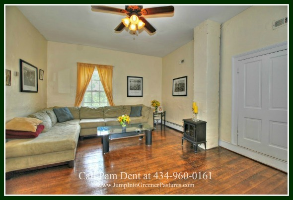 Central Virginia Historic Homes for Sale - Bond and have fun enjoyable moments with your loved ones in the den of this historic home for sale in Central Virginia.