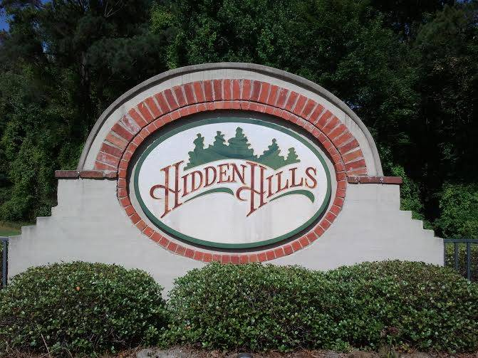 Hidden Hills Subdivision in Brandon