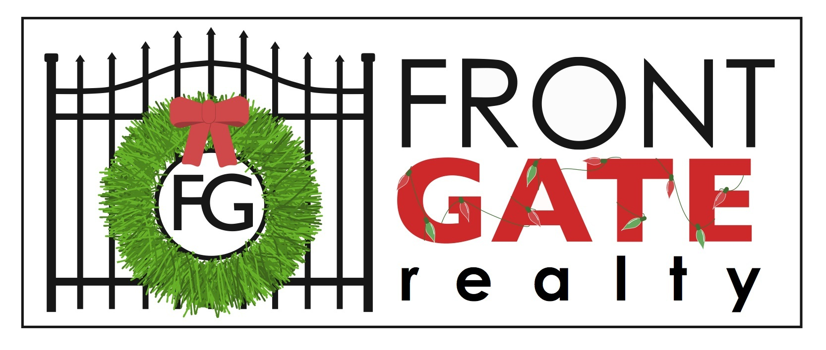 Front Gate Christmas Logo
