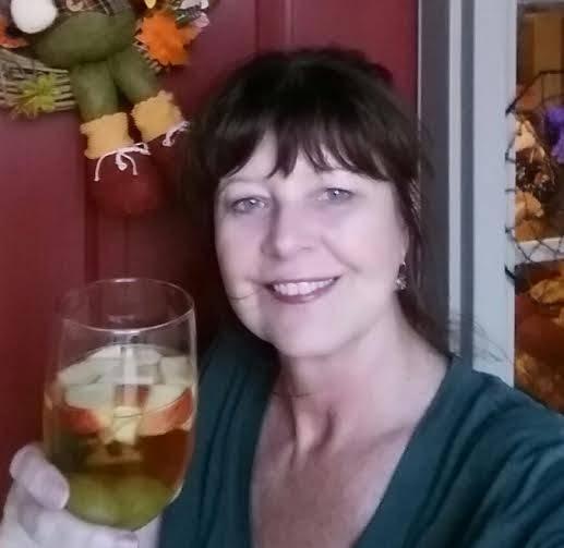 Halloween Recipe Caramel Apple Sangria