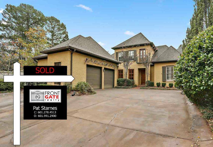 SOLD sign at 1741 Douglass Drive
