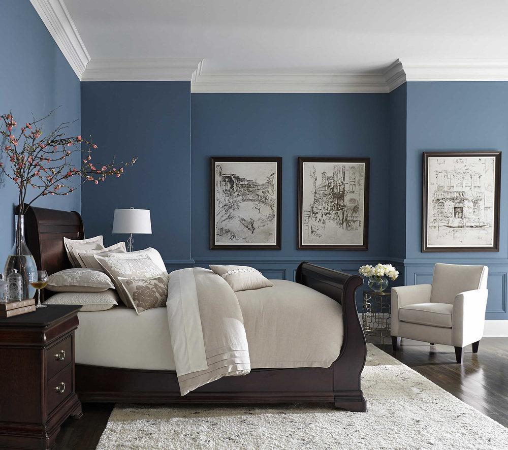 Image result for cadet blue bedroom