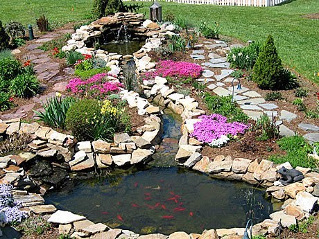 National garden meditation day for Backyard pond supplies