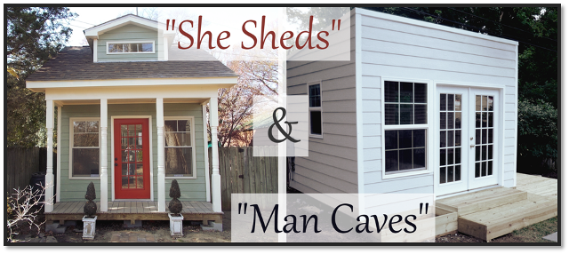 Man Caves Made Out Of Sheds : The trending outdoor idea to make your own space