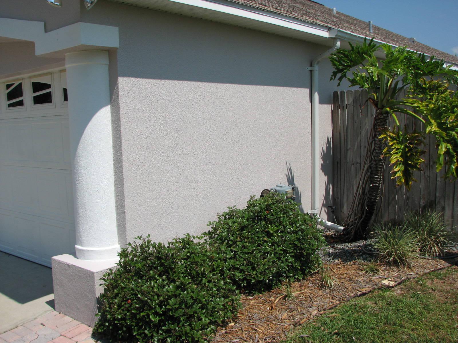 Merritt Island Stucco Repair and Exterior Painting- Bef