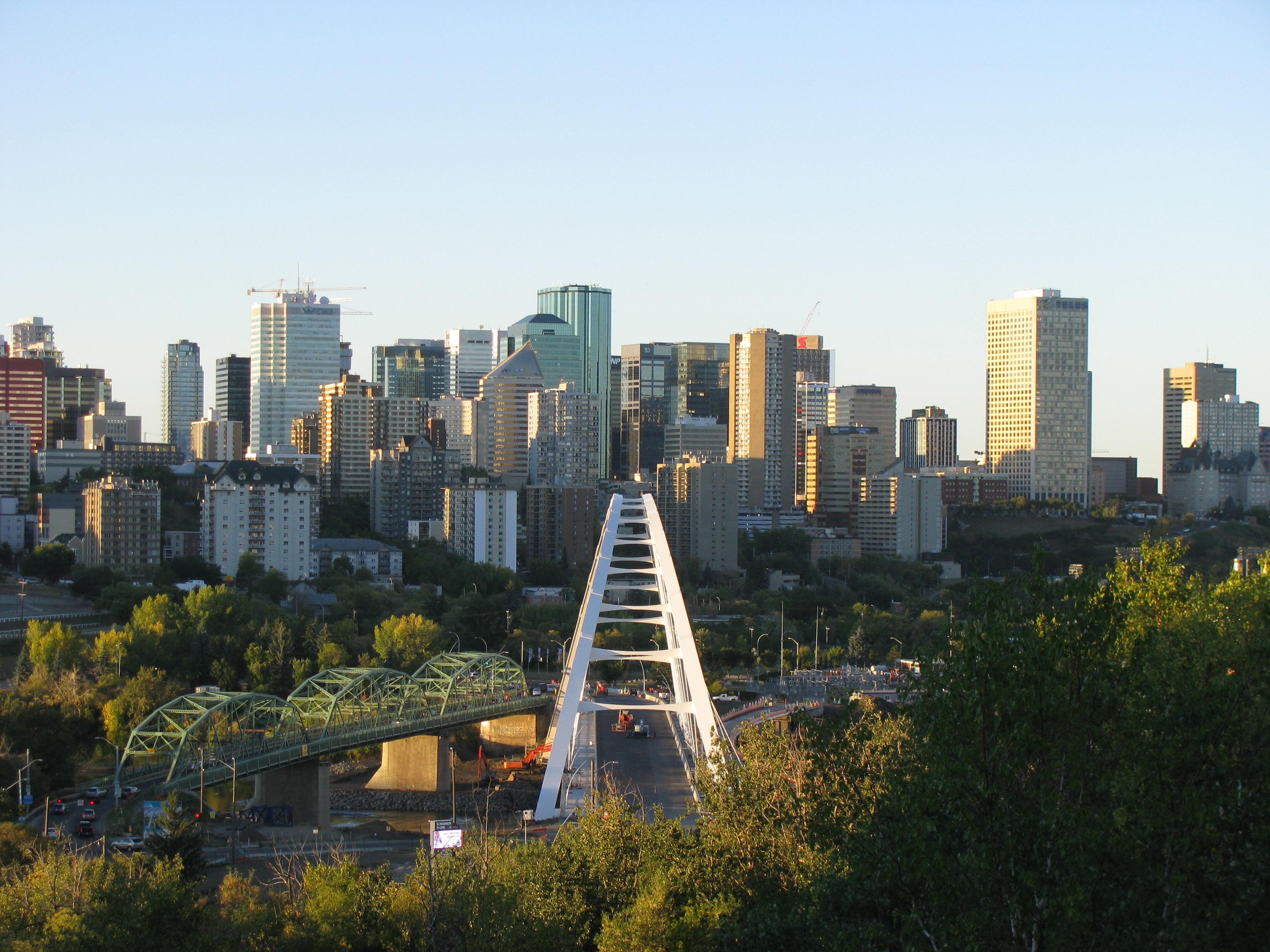 Strathcona Edmonton View