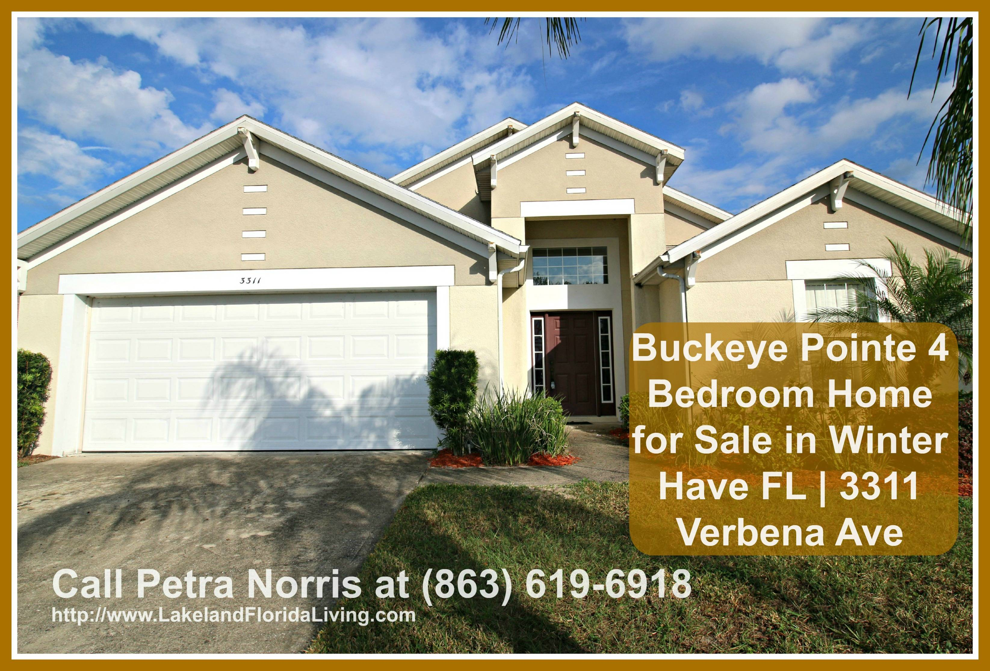 Built with 4 spacious bedrooms, 3 full baths, a kitchen with new appliances, and more, this fabulous home for sale in Winter Haven FL could be the dream home you are looking for.