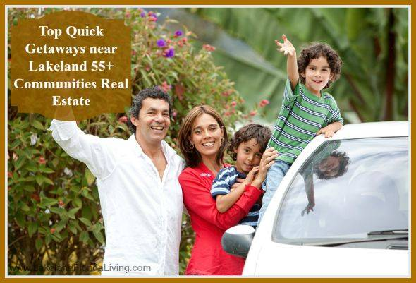 Get your gear and be ready to explore these fantastic destination near your homes in Lakeland 55+ communities.