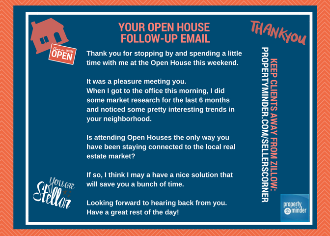 how to follow up on house offer