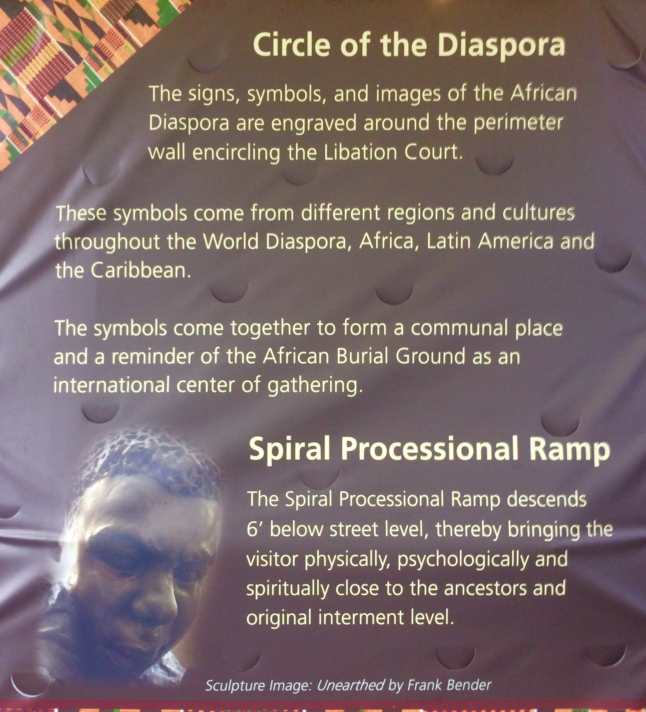 circle of Diaspora nyc photo by feng shui consultant laura cerrano