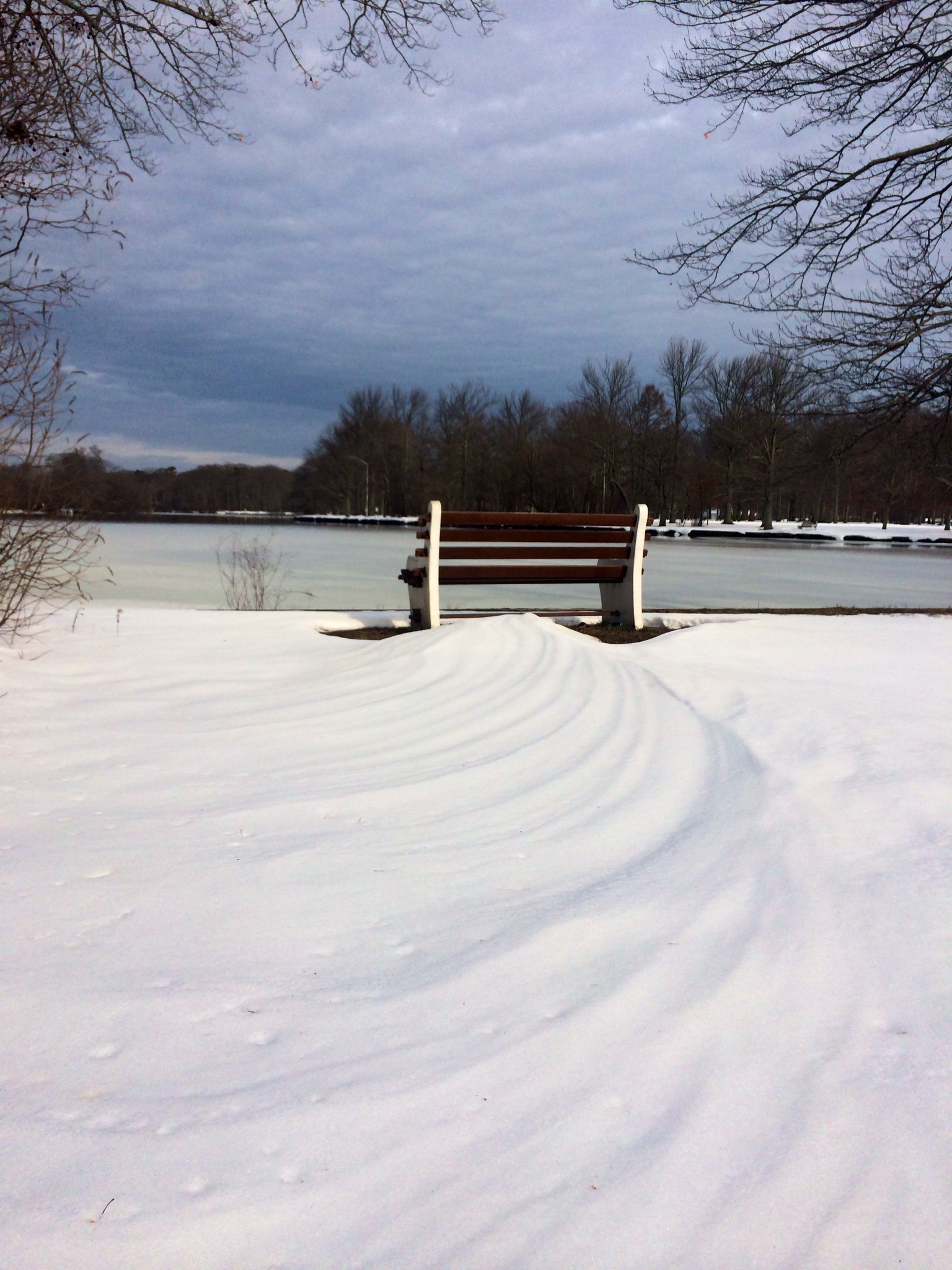 Exploring Belmont Lake State Park During Wintertime