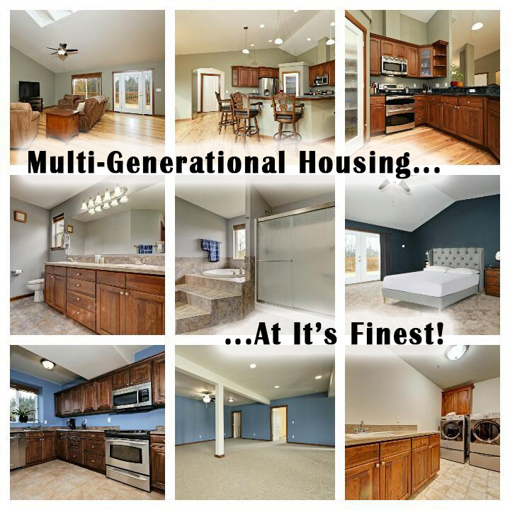 Multi Generational Living : Multi-Generation Tumwater Housing at it's Finest!