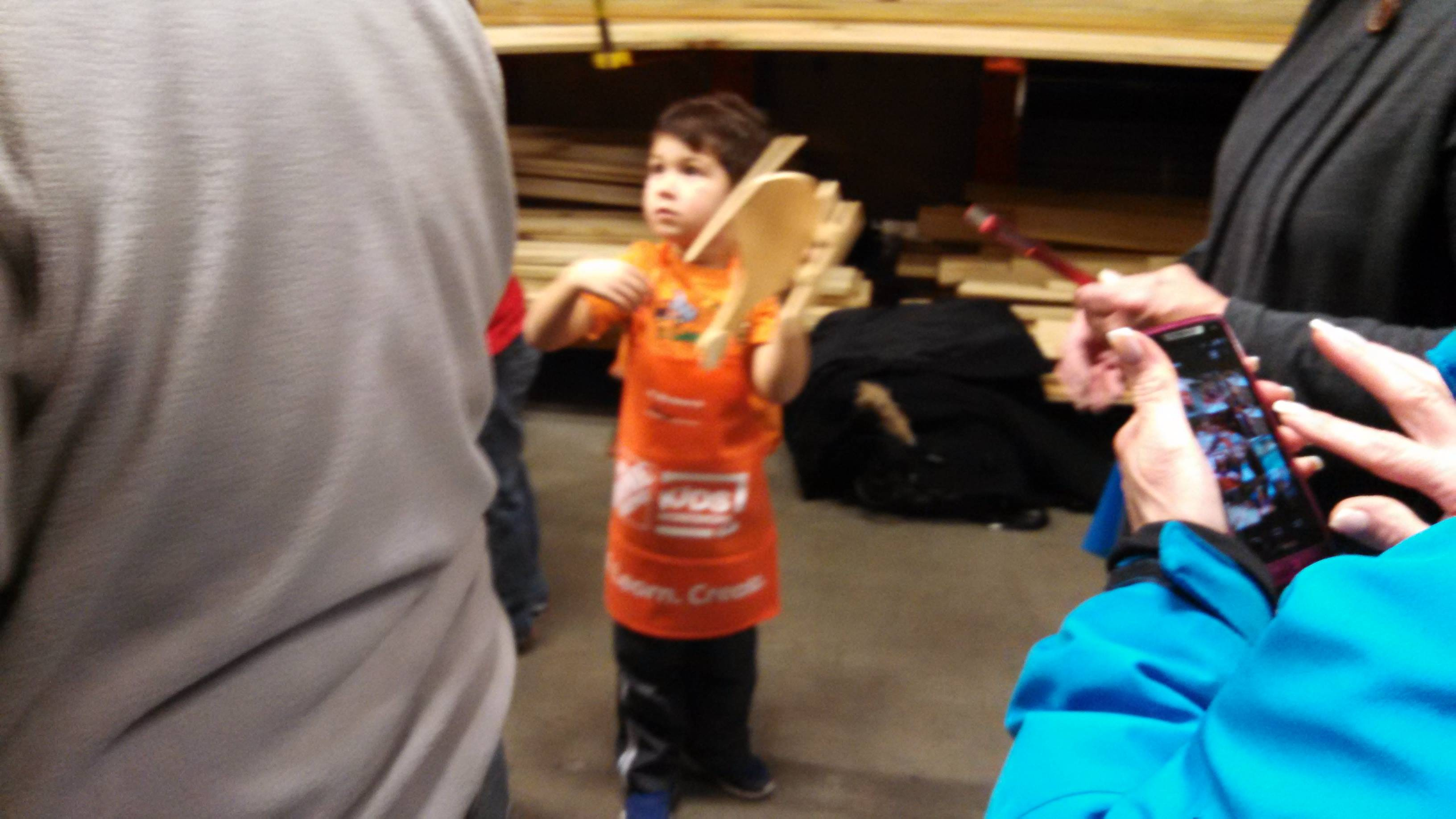 Party Day At Home Depot