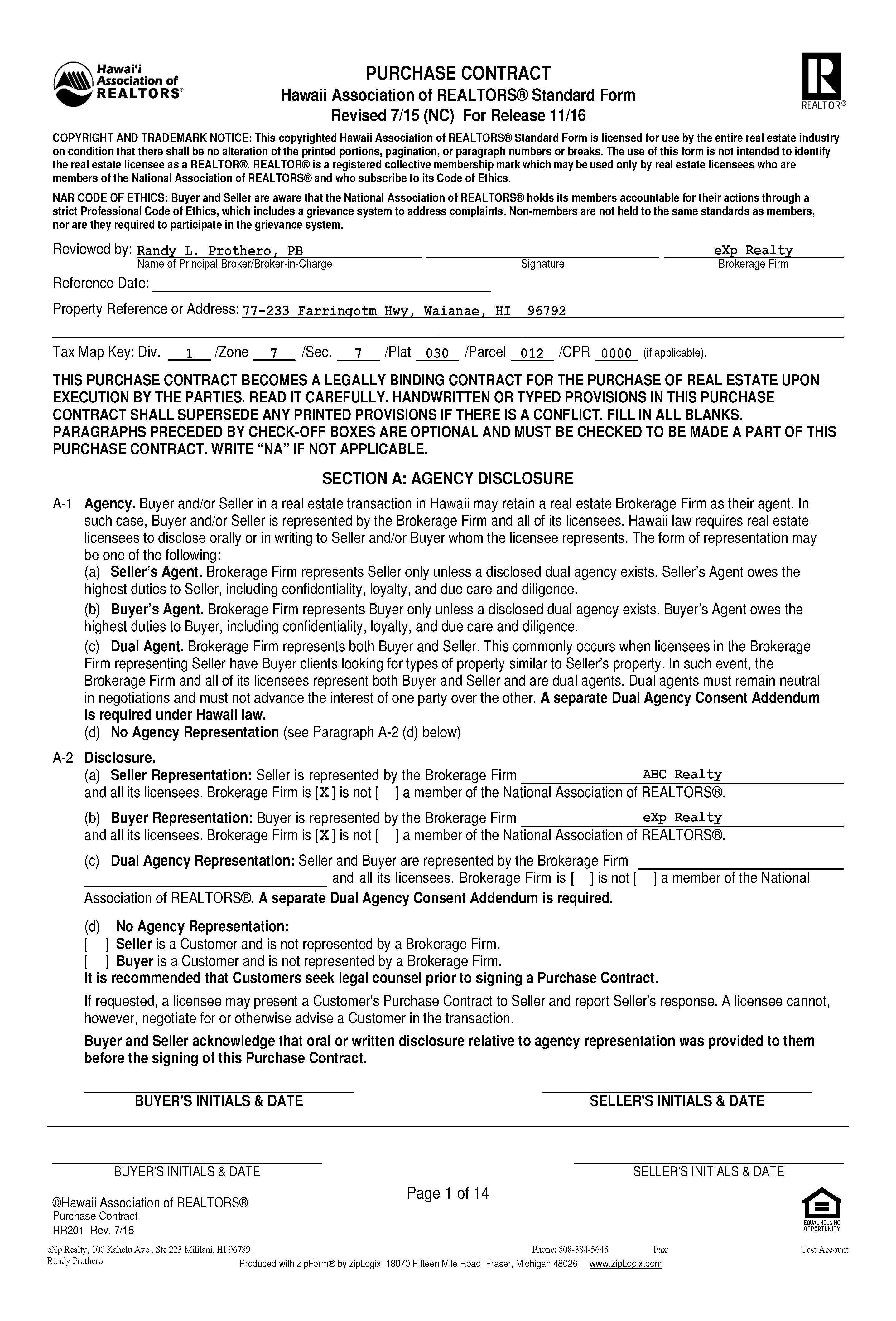 Hawaii Association Of Realtors Standard Form Nurufunicaasl