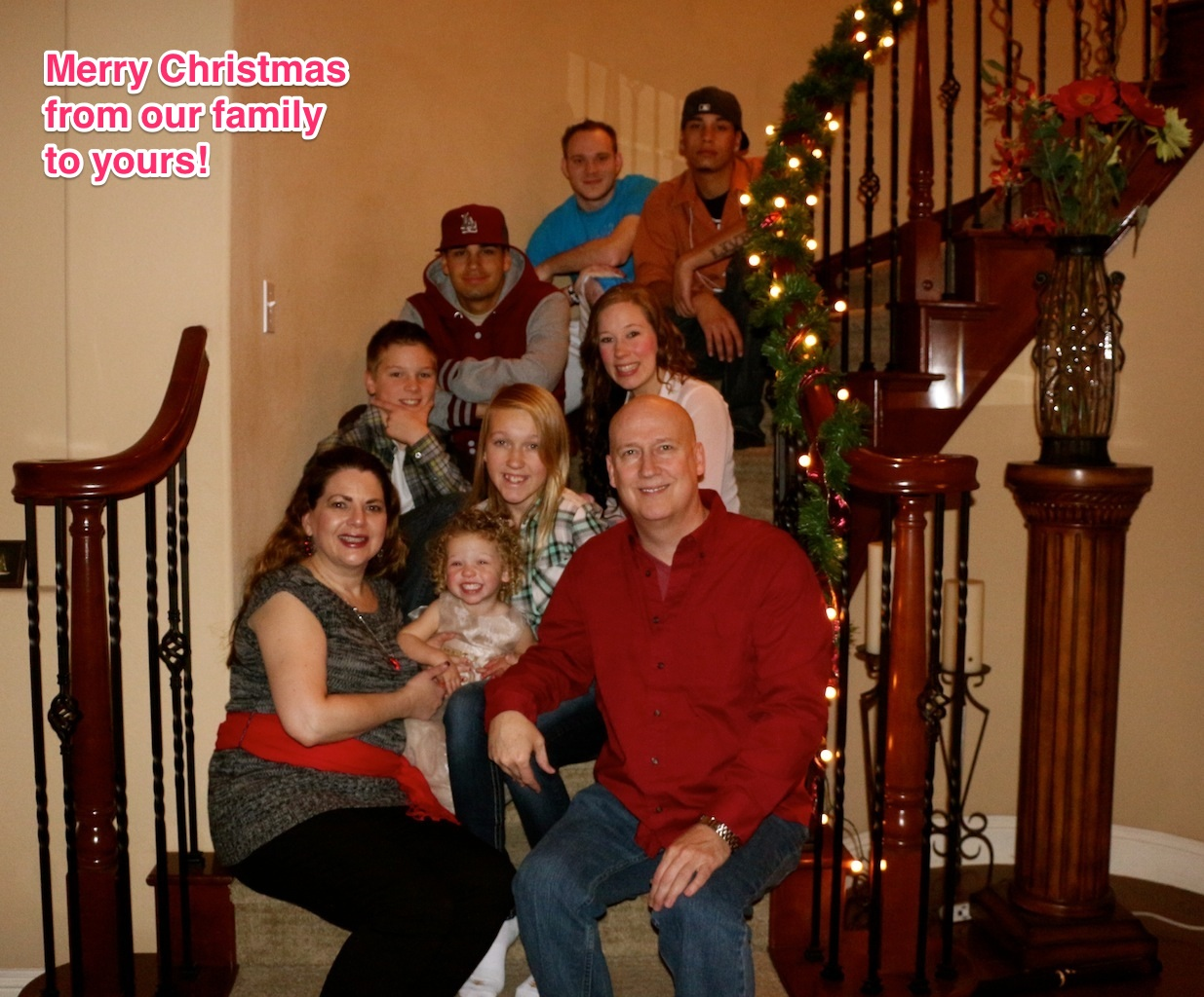 Merry Christmas from Randy Elliott & Family