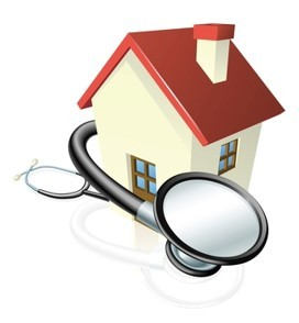House with Stethoscope