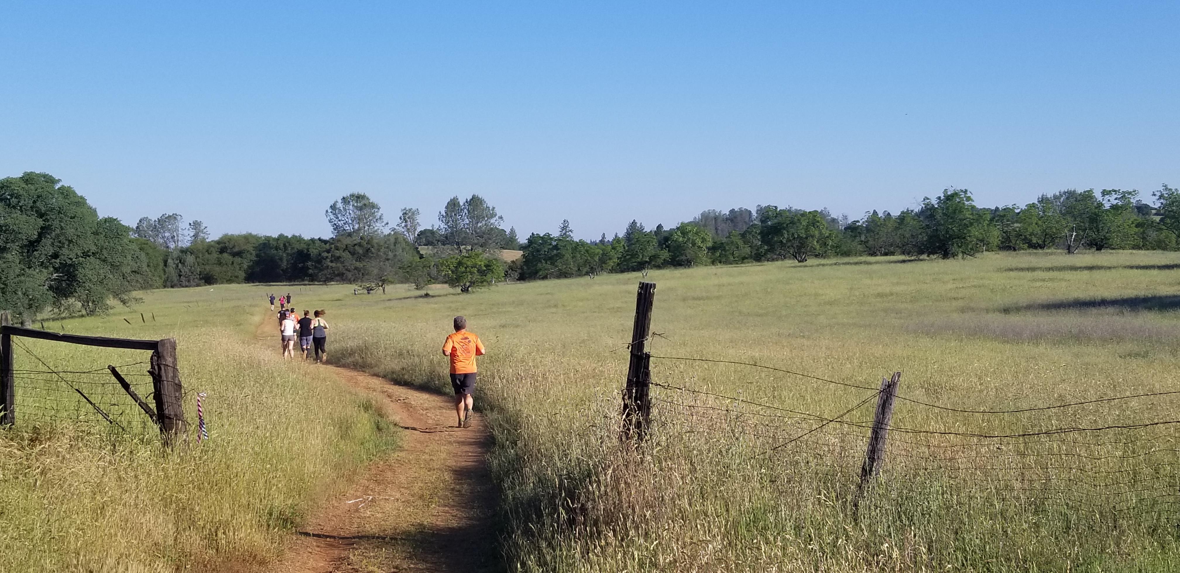 Trail Running with Runnin For Rhett