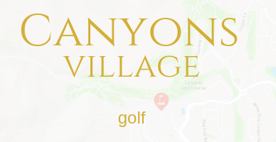 CANYONS VILLAGE PARK CITY GOLF PROPERTIES
