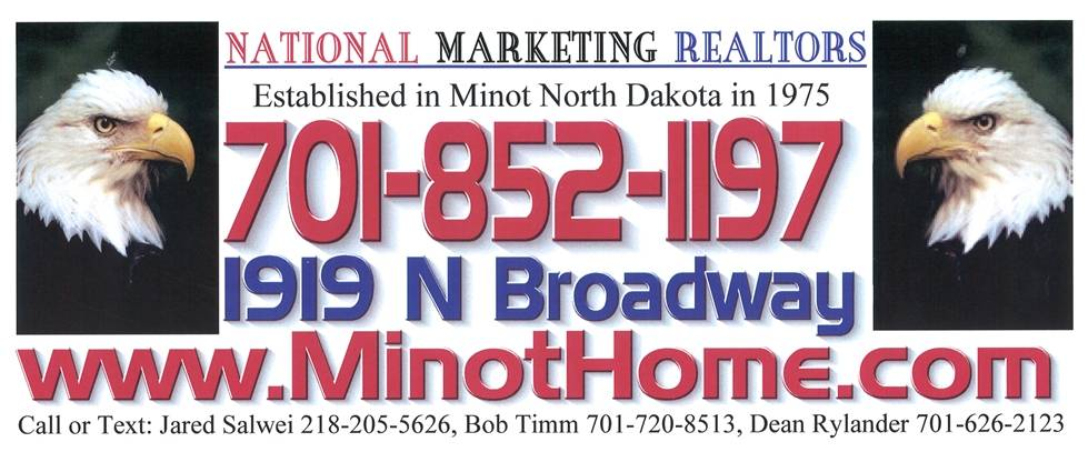 Real Estate in Minot, National Marketing Realtors