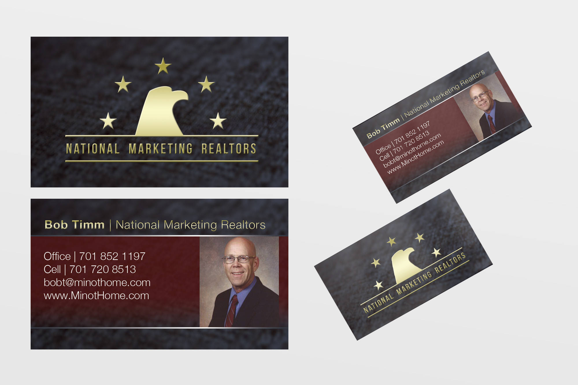 Awesome images of business cards for realtors business cards and logo and business card update magicingreecefo Image collections