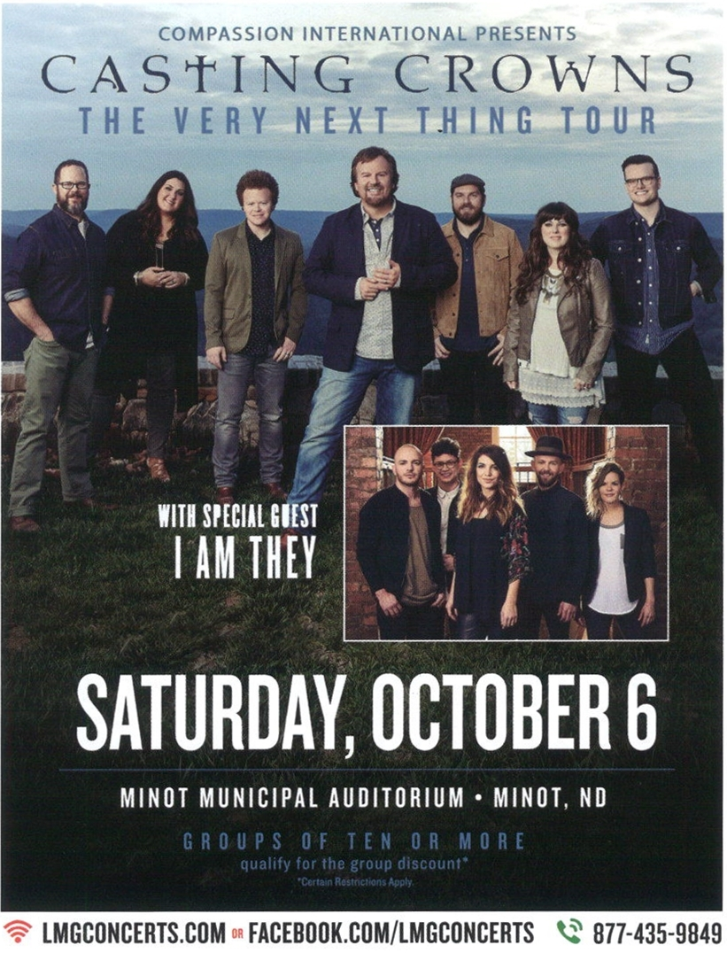 Minot Gospel Concert in October