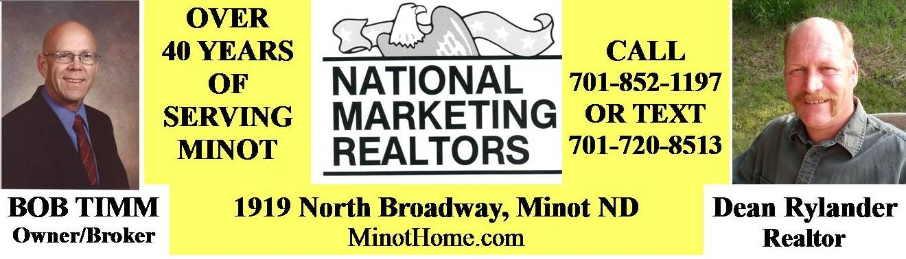Minot Real Estate by Bob Timm