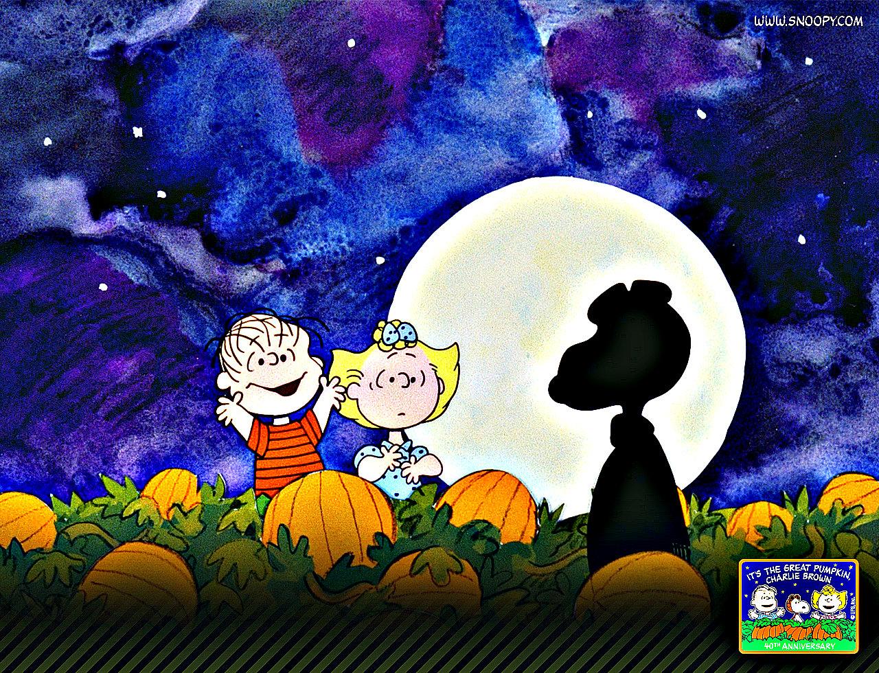 Great Pumpkin Charlie Brown Halloween