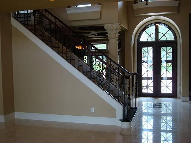 Custom home building tips stair railings remodel for Custom home building tips