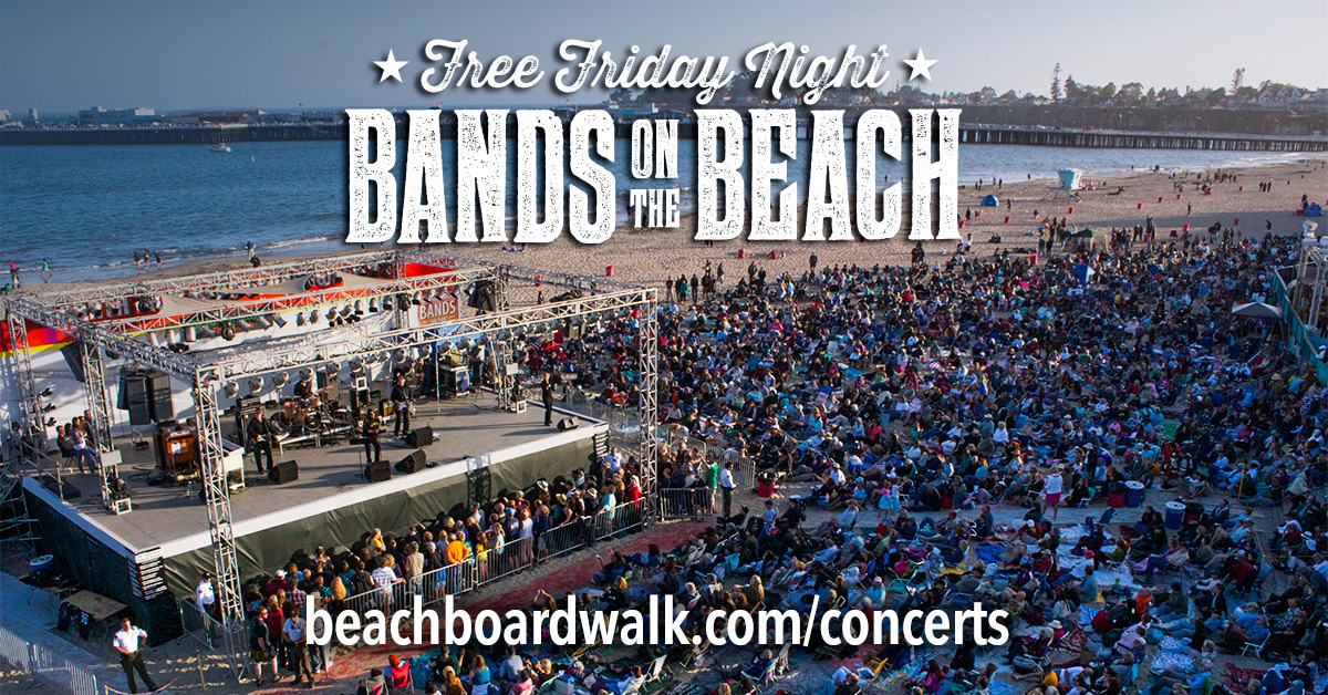 Santa Cruz Beach Boardwalk Free Bands on the Beach image