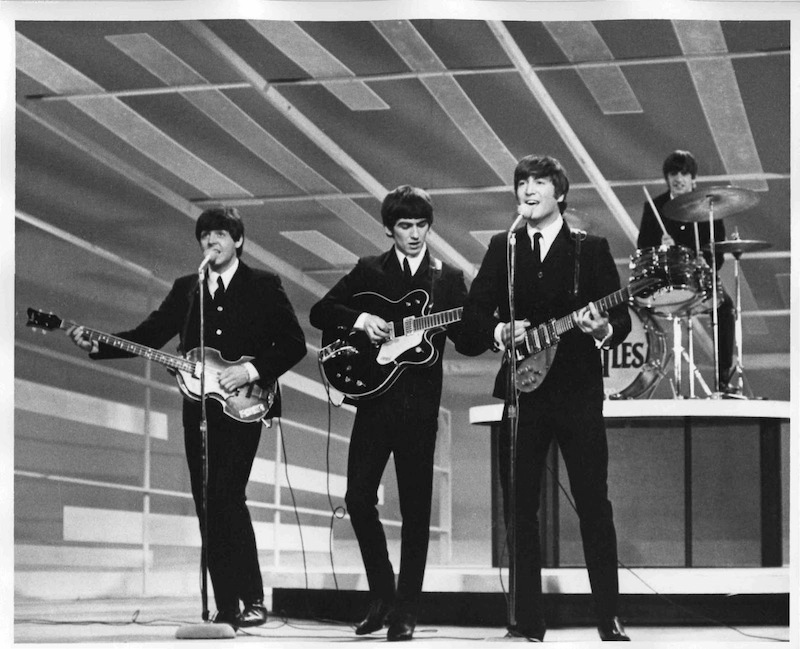 The Beatles debut Ed Sullivan Show 1964
